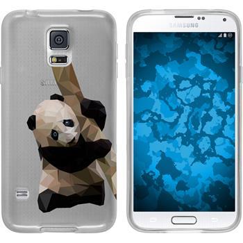 PhoneNatic Samsung Galaxy S5 Neo Silicone Case vector animals design 4 Case Galaxy S5 Neo + protective foils