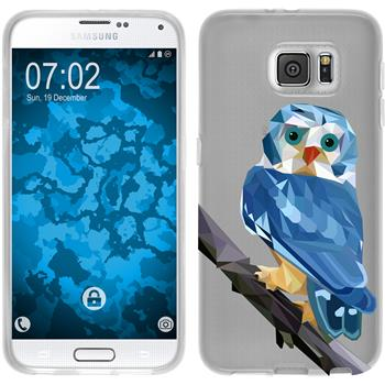 PhoneNatic Samsung Galaxy S6 Silicone Case vector animals design 1 Case Galaxy S6 + protective foils