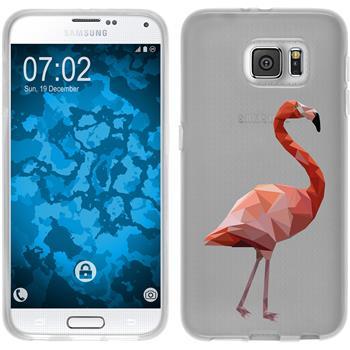 Samsung Galaxy S6 Silikon-Hülle Vektor Tiere Motiv 2