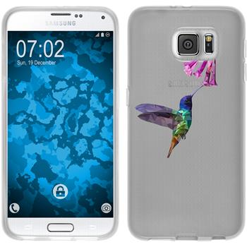 Samsung Galaxy S6 Silikon-Hülle Vektor Tiere Motiv 3