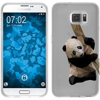 Samsung Galaxy S6 Silikon-Hülle Vektor Tiere Motiv 4