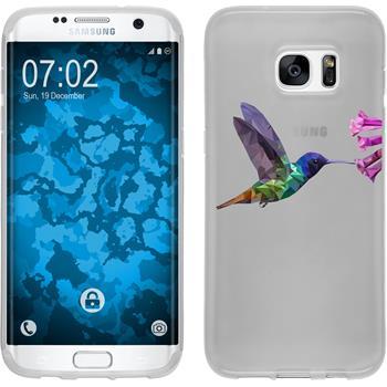 Samsung Galaxy S7 Edge Silikon-Hülle Vektor Tiere Motiv 3