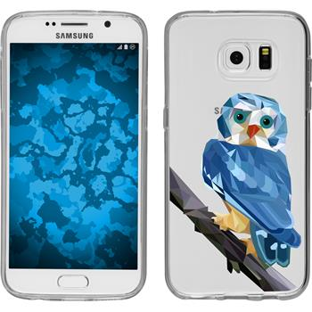 PhoneNatic Samsung Galaxy S7 Silicone Case vector animals design 1 Case Galaxy S7 + protective foils