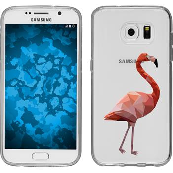 Samsung Galaxy S7 Silikon-Hülle Vektor Tiere Motiv 2