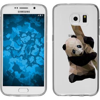 Samsung Galaxy S7 Silikon-Hülle Vektor Tiere  M4