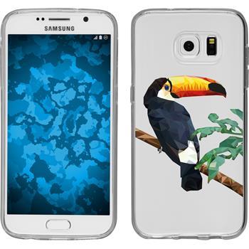 Samsung Galaxy S7 Silikon-Hülle Vektor Tiere Motiv 5