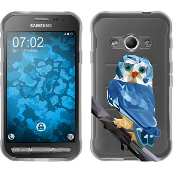 Samsung Galaxy Xcover 3 Silikon-Hülle Vektor Tiere Motiv 1