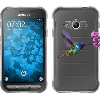 Samsung Galaxy Xcover 3 Silikon-Hülle Vektor Tiere Motiv 3