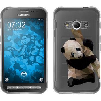 Samsung Galaxy Xcover 3 Silikon-Hülle Vektor Tiere  M4