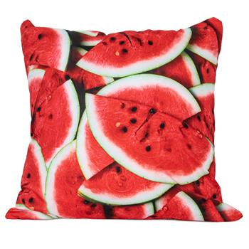 cosey cushion cover 45x45, cushion cover with motif for decorative cushion, sofa cushion - different motifs Polyester D6 Watermelon