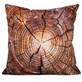 cosey cushion cover 45x45, cushion cover with motif for decorative cushion, sofa cushion - different motifs Polyester D14 Tree trunk