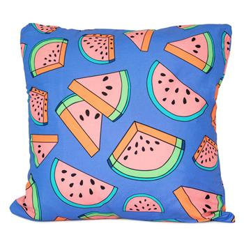 cosey cushion cover 45x45, cushion cover with motif for decorative cushion, sofa cushion - different motifs Polyester D19 Comic  Melon