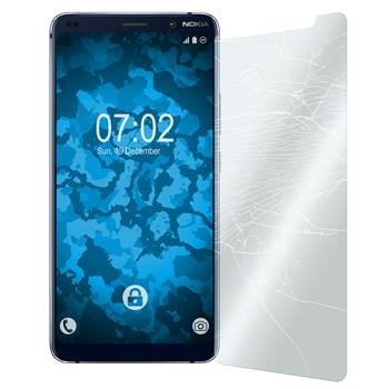 2 x Nokia 9 PureView Protection Film Tempered Glass clear