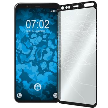 1 x Pixel 4 Protection Film Tempered Glass clear full screen black