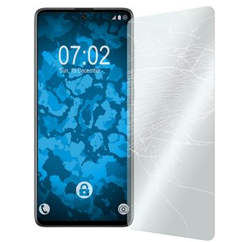 2 x Galaxy A71 Protection Film Tempered Glass clear