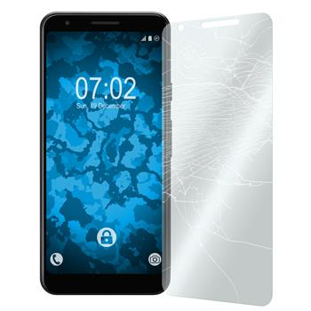 2 x Pixel 3a Protection Film Tempered Glass clear