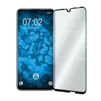 2 x Honor 10 Lite Protection Film Tempered Glass clear full screen black