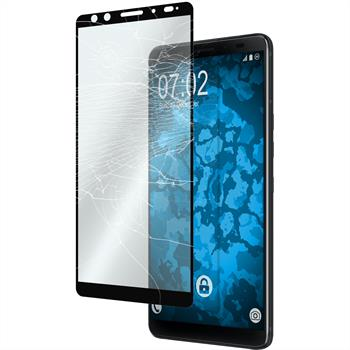 2 x U12+ Protection Film Tempered Glass clear full screen black