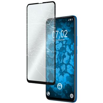 2 x P Smart Z Protection Film Tempered Glass clear full screen black