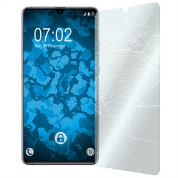 2 x Mate 20 X Protection Film Tempered Glass clear