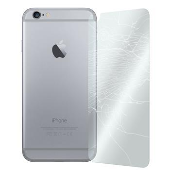 2x iPhone 6 Plus / 6s Plus Rückseite klar Glasfolie