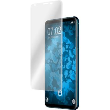 4 x V30S ThinQ Protection Film clear curved