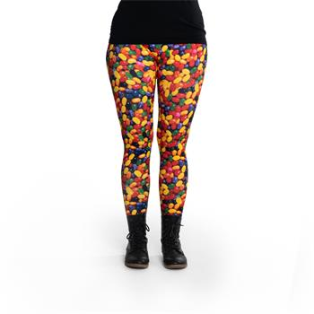 cosey - Printed colorful leggings (one size ) - Design Sweets