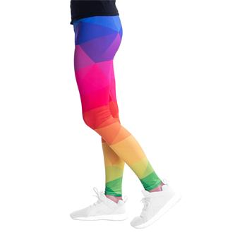 cosey - printed colourful Plus Size Leggins - different patterns (one size) - Bright colours