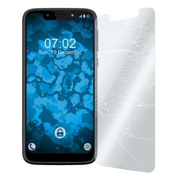 3 x Moto G7 Play Protection Film Tempered Glass clear