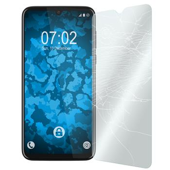 1 x Moto G8 Play Protection Film Tempered Glass clear
