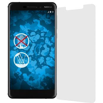 6 x Nokia 6.1 (2018) Schutzfolie matt