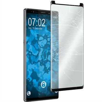 1 x Galaxy Note 9 Protection Film Tempered Glass clear fullscreen 3DPlus