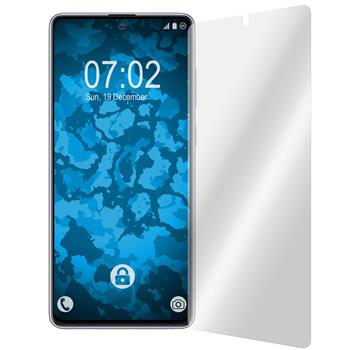 6 x Galaxy Note 10 Lite Protection Film clear