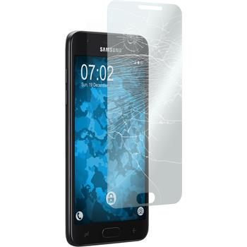 2 x Galaxy J7 (2018) Protection Film Tempered Glass clear