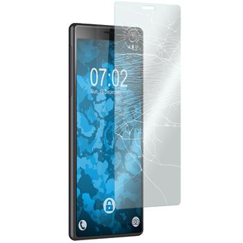 3 x Xperia 10 Protection Film Tempered Glass clear