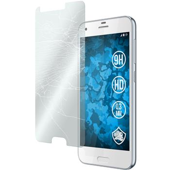 2 x One A9s Protection Film Tempered Glass clear