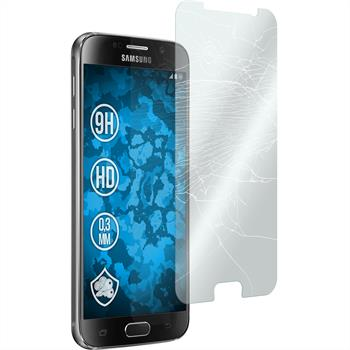 1 x Samsung Galaxy S6 Protection Film Tempered Glass clear