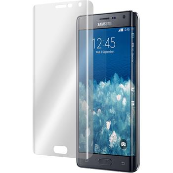2 x Samsung Galaxy Note Edge Protection Film clear curved