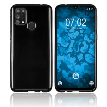 Silicone Case Galaxy M31 crystal-case black Cover