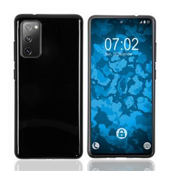 Silicone Case Galaxy S20 FE crystal-case black Cover