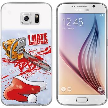 Samsung Galaxy S6 Silicone Case Christmas X Mas M8