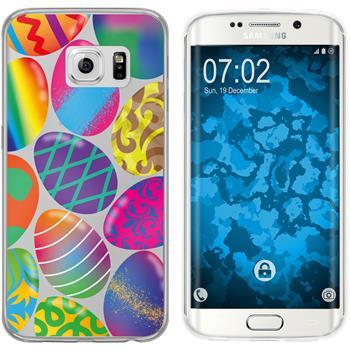 Samsung Galaxy S6 Edge Silicone Case Easter M3