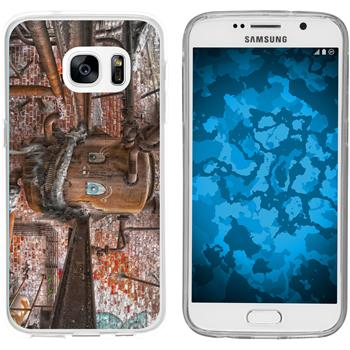 Samsung Galaxy S7 Silicone Case Urban M1
