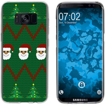 Samsung Galaxy S8 Plus Silicone Case Christmas X Mas M7