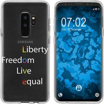 Samsung Galaxy S9 Plus Silicone Case pride M2