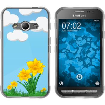 Samsung Galaxy Xcover 3 Silicone Case Easter M4