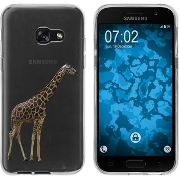 Samsung Galaxy A3 2017 Silicone Case vector animals M8