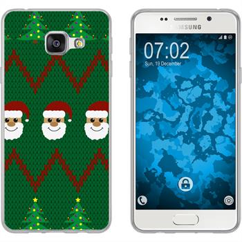 Samsung Galaxy A3 (2016) A310 Silikon-Hülle X Mas Weihnachten  M7