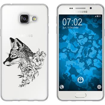 Samsung Galaxy A5 (2016) A510 Silikon-Hülle Floral  M1-1