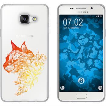 Samsung Galaxy A5 (2016) A510 Silikon-Hülle Floral  M2-2